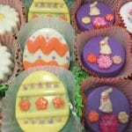 Easter Chocolate Covered Cookies
